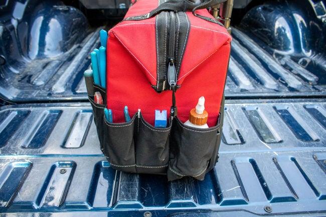 Husky Tool Bag Pockets and Storage Galore