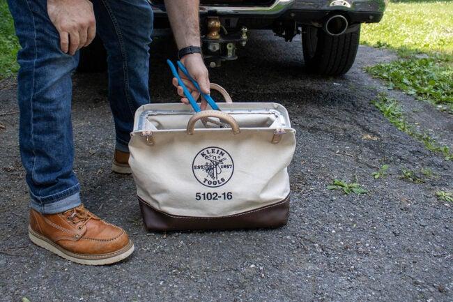 Klein Tool Bag Easy to Use