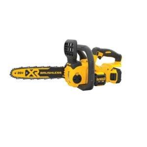 The Best Chainsaw Option: DEWALT 20V MAX XR Chainsaw, 12-Inch