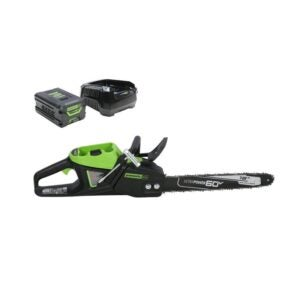 The Best Chainsaw Option: Greenworks Pro 80V 18-Inch Cordless Chainsaw