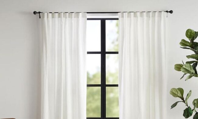 The Best Places to Buy Curtains Option: Pottery Barn