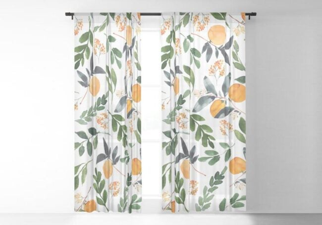 The Best Places to Buy Curtains Option: Society6