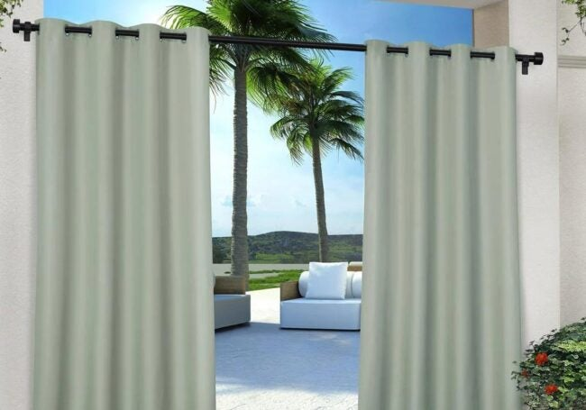 The Best Places to Buy Curtains Option: The Home Depot