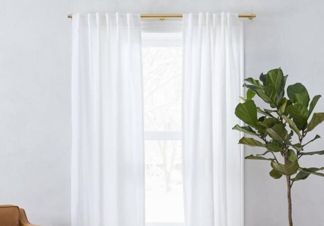 The Best Places to Buy Curtains Option: West Elm
