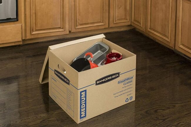 The Best Places to Buy Moving Boxes Option: Amazon