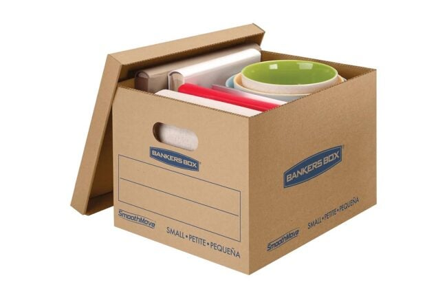 The Best Places to Buy Moving Boxes Option: Staples