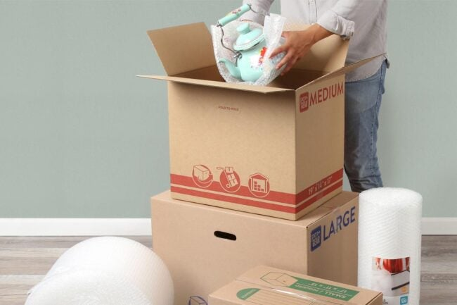 The Best Places to Buy Moving Boxes Option: Walmart