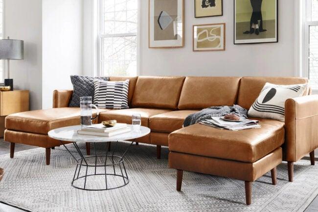 The Best Sofa Brand Option: Burrow