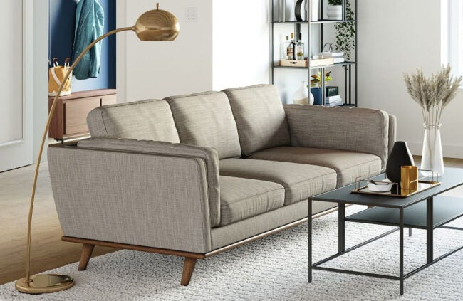 The Best Sofa Brand Option: West Elm
