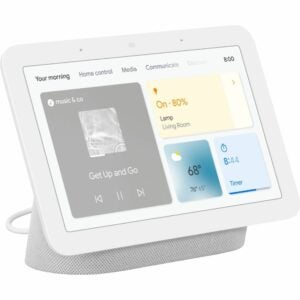 "The Best Google Home Devices Option: Google Nest Hub 7"" Smart Display (2nd Gen)"