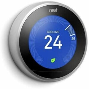 The Best Google Home Devices Option: Google Nest Learning Thermostat