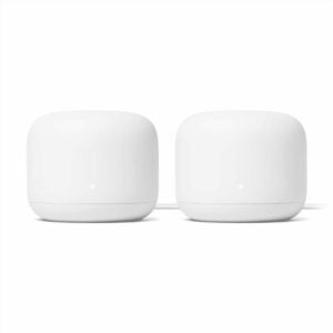 The Best Google Home Devices Option: Google Nest Wifi - AC2200 - Mesh WiFi System