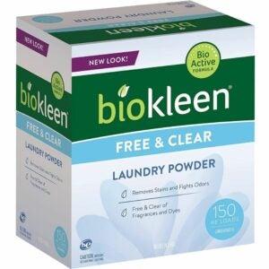 The Best Hypoallergenic Laundry Detergent Option: Biokleen Free & Clear Natural Laundry Detergent