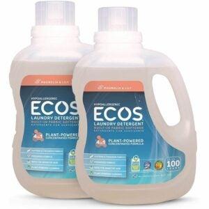 The Best Hypoallergenic Laundry Detergent Option: ECOS® 2X Hypoallergenic Liquid Laundry Detergent