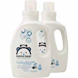 The Best Hypoallergenic Laundry Detergent Option: Amazon Brand - Mama Bear Gentle Baby Laundry Detergent