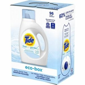 The Best Hypoallergenic Laundry Detergent Option: Tide Free and Gentle Eco-Box Liquid Laundry Detergent