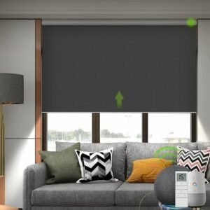 The Best Roller Shades Option: Yoolax Motorized Smart Blind for Window with Remote