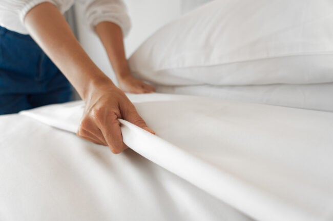 Which Type of Bedding Will Keep You the Coolest At Night? -- too hot to sleep