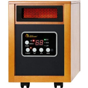 Best Energy Efficient Space Heater Option: Dr Infrared Heater Portable Space Heater