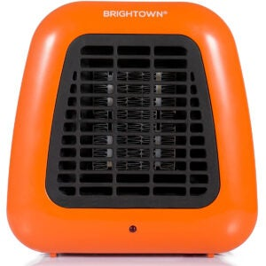 Best Energy Efficient Space Heater Option: Mini Desk Heater, 400W Low Wattage Personal Ceramic Heater