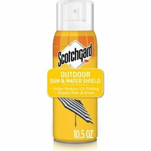 The Best Fabric Protector Option: Scotchgard Sun and Water Shield