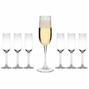 The Best Plastic Drinking Glasses Option: Tiger Chef Plastic Champagne Flutes