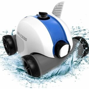The Best Pool Supplies Option: PAXCESS Cordless Automatic Pool Cleaner