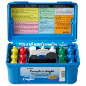 The Best Pool Supplies Option: Taylor K2005 Swimming Pool Test Kit