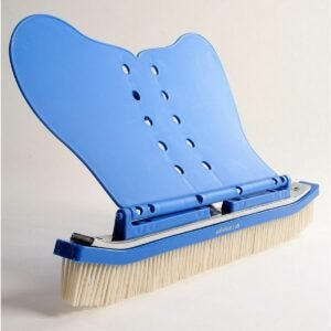 """The Best Pool Supplies Option: The Wall Whale Classic 18"""" Swimming Pool Brush"""