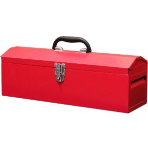 Best Portable Tool Box Options: BIG RED TB101 Torin 19 Hip Roof Style Portable Steel Tool Box