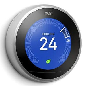 Best Smart Home Devices Option: Google Nest Learning Thermostat