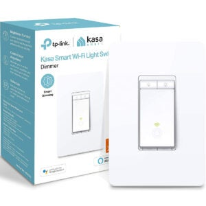 Best Smart Home Devices Option: Kasa Smart Dimmer Switch HS220