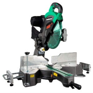 Best Tools Option: Metabo HPT 12-Inch Sliding Compound Miter Saw