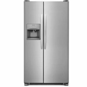 The Black Fiiday Appliance Deals Option: Frigidaire 25.5-cu ft Side-by-Side Refrigerator