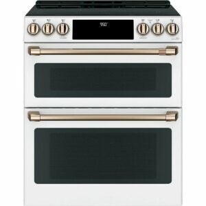 """The Black Fiiday Appliance Deals Option: GE Cafe 30"""" Convection Double Oven Range"""