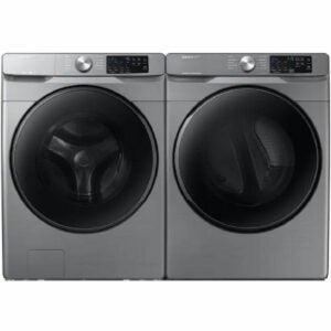 The Black Fiiday Appliance Deals Option: Samsung Platinum Washer & Electric Dryer Set