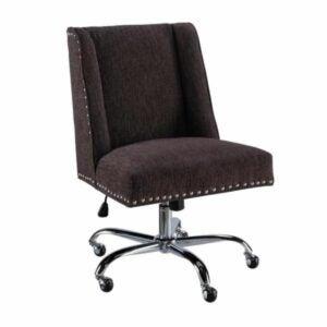 The Black Friday Furniture Deals Option: Linon Home Decor Draper Fabric Task Chair