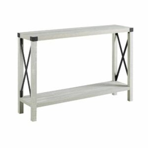 The Black Friday Furniture Deals Option: The Gray Barn Kujawa X-Frame Entry Table