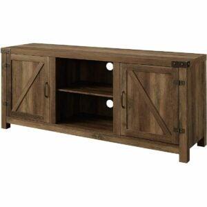 The Black Friday Furniture Deals Option: Walker Edison Modern Farmhouse TV Stand