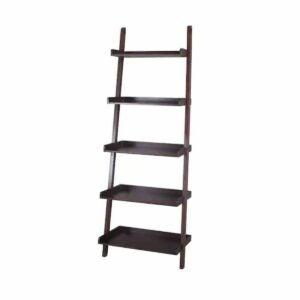 The Black Friday Furniture Deals Option: allen + roth Java Wood Ladder Bookcase