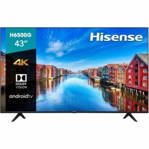 The Best Black Friday TV Deals Option: Hisense 43-Inch Class H6570G Ultra HD Smart TV