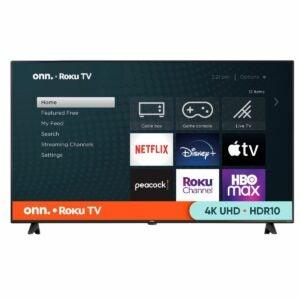"The Best Black Friday TV Deals Option: onn. 65"" Class 4K UHD LED Roku Smart TV"