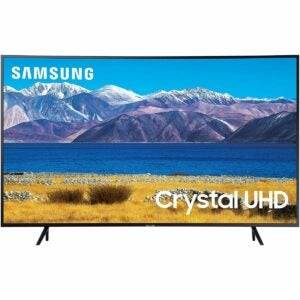 The Best Black Friday TV Deals Option: SAMSUNG 55-inch Class Curved 4K UHD TU-8300