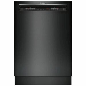 The Best Dishwasher Black Friday Option: Bosch 300 Series Black Front Control Dishwasher