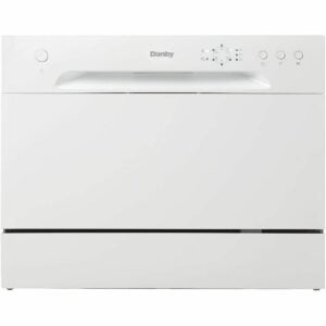 The Best Dishwasher Black Friday Option: Danby Countertop Dishwasher with 6 Place Settings