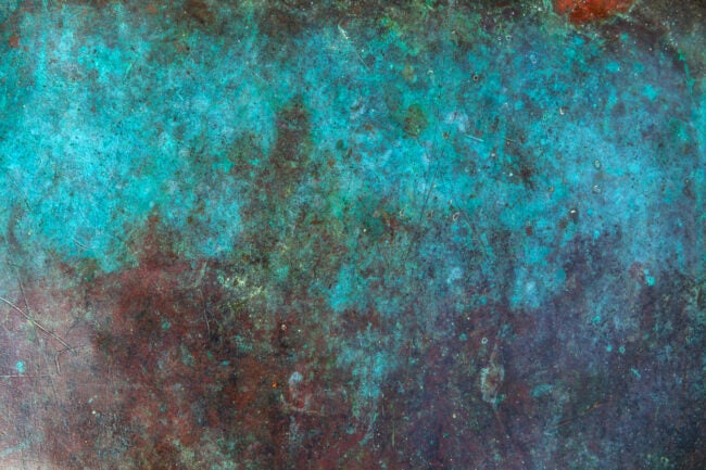 does copper rust