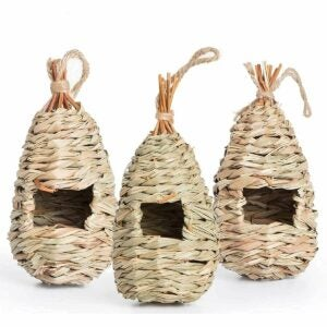 The Gifts for Bird Lovers Option: AQUEENLY Hummingbird House Set of 3