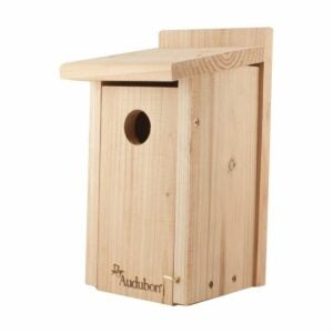 The Gifts for Bird Lovers Option: Audubon Red Cedar Bird House