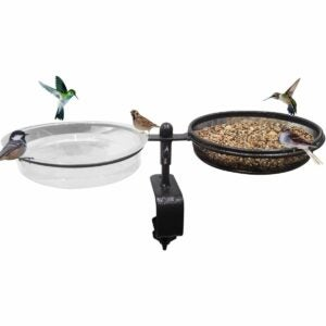 The Gifts for Bird Lovers Option: Urban Deco Deck Bird Feeders