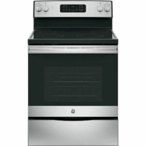 The Best Home Depot Black Friday Option: GE Electric Range with Self-Cleaning Oven